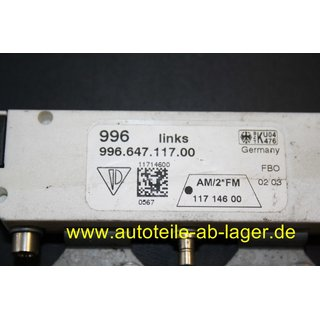 Porsche 996 Turbo GT2 Antennenverstärker links 99664711700 #9377-0332-03